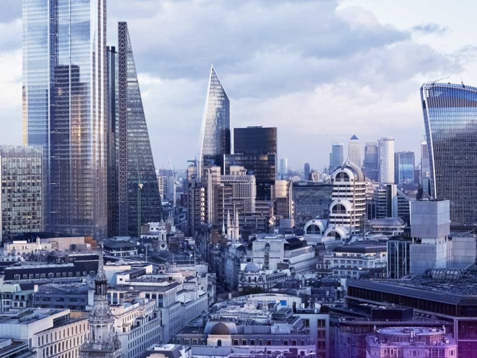 Image of London skyline and buildings