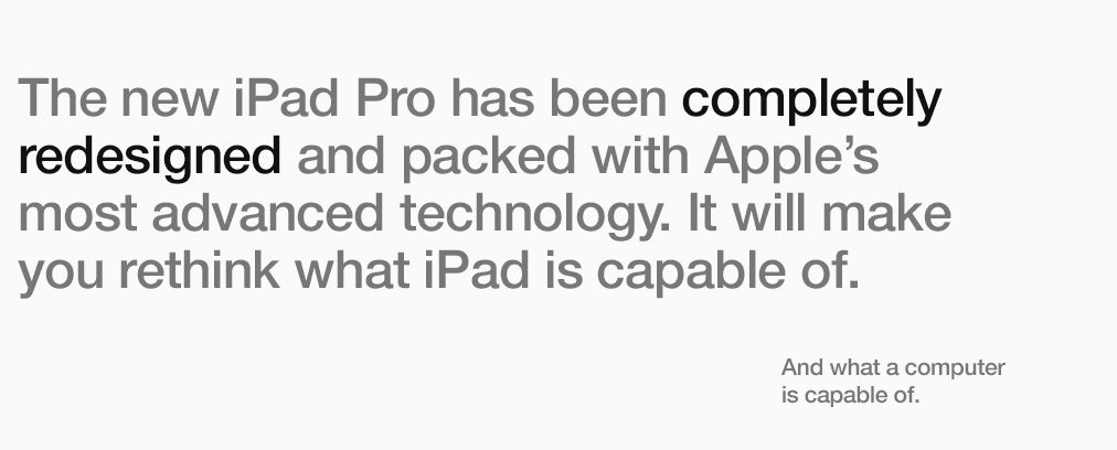 The new iPad Pro has been completely redesigned