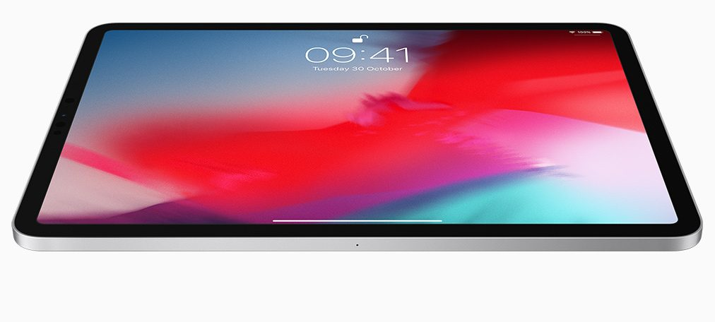 Image of iPad Pro lock screen