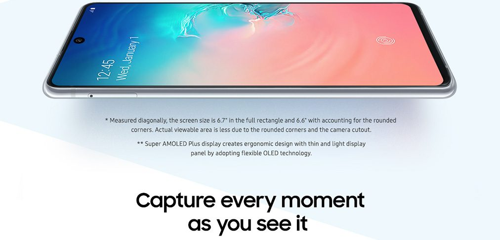 Capture every moment as you see it