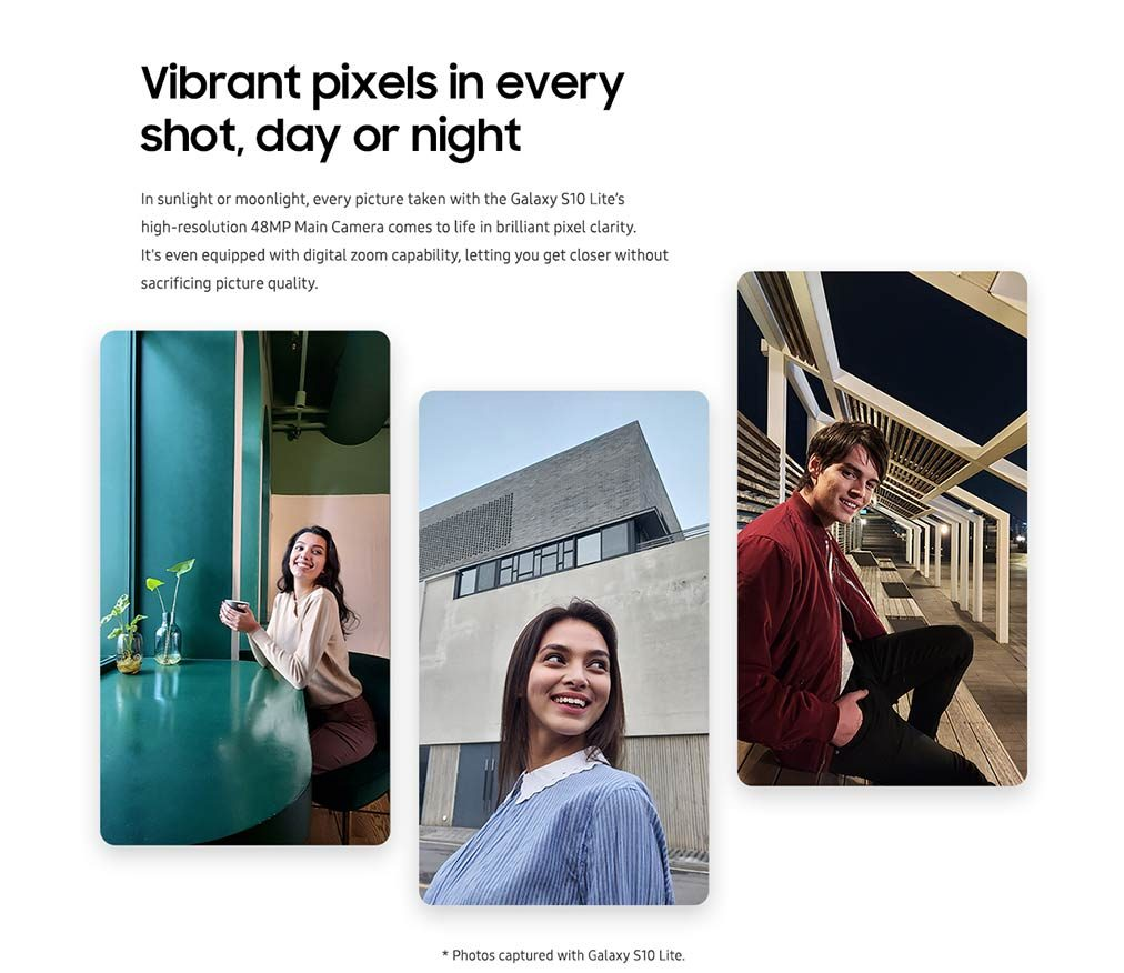 Vibrant pixels in every shot, day or night