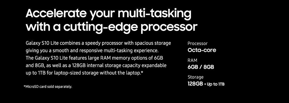 Accelerate your multi-tasking with a cutting-edge processor