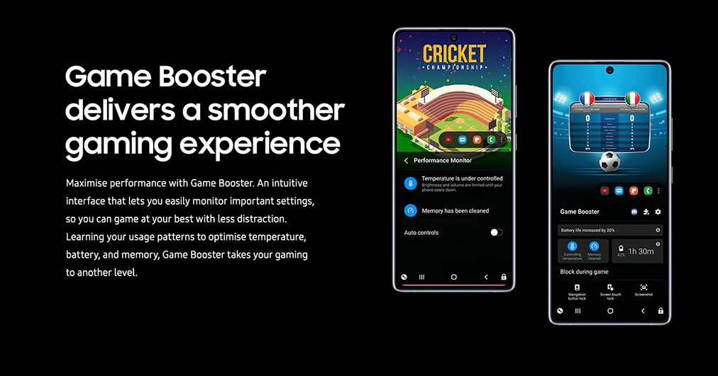 Game Booster delivers a smoother gaming experience