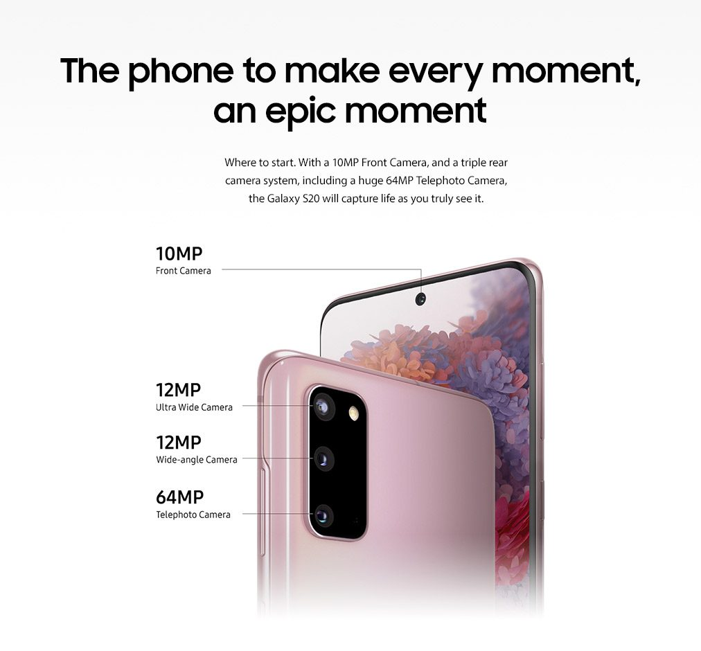 The phone to make every moment, an epic moment